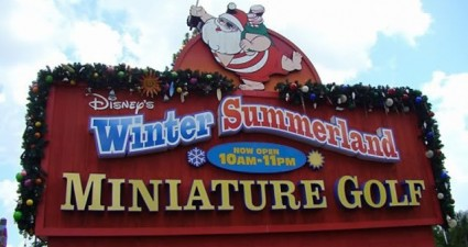 Disney's Winter Summerland Miniature Golf